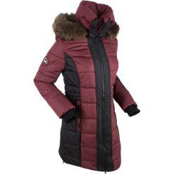 Płaszcz outdoorowy bonprix czerwony klonowy. Szare płaszcze damskie z futerkiem marki bonprix. Za 269,99 zł.