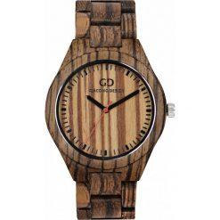 Zegarek Giacomo Design Drewniany męski GD08303. Brązowe zegarki męskie Giacomo Design. Za 385,00 zł.
