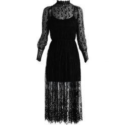 Sukienki hiszpanki: Navy London EVELYN Sukienka koszulowa black