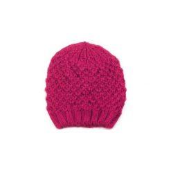Czapka damska Węzełki różowa. Czerwone czapki zimowe damskie marki Art of Polo. Za 21,37 zł.