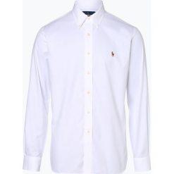 Polo Ralph Lauren - Koszula męska łatwa w prasowaniu, czarny. Czarne koszule męskie na spinki Polo Ralph Lauren, m, w kolorowe wzory, z bawełny, polo. Za 299,95 zł.