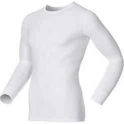 Odlo Koszulka męska Shirt l/s crew neck WARM  biała r. XL 152022/10000. Białe t-shirty męskie marki Odlo, l. Za 169,95 zł.
