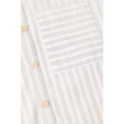 Mango Kids - Koszula dziecięca Fred 110-164 cm. Szare koszule chłopięce z długim rękawem marki Mango Kids, z bawełny. W wyprzedaży za 49,90 zł.