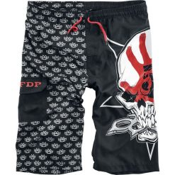 Five Finger Death Punch EMP Signature Collection Kąpielówki czarny. Czarne kąpielówki męskie marki Five Finger Death Punch, xl, z nadrukiem. Za 164,90 zł.