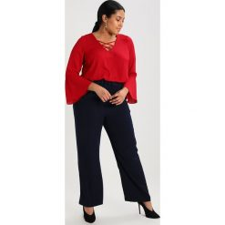 Bluzki asymetryczne: Evans CROSS FRONT Bluzka red