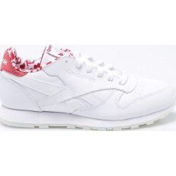 Buty sportowe damskie: Reebok Buty damskie Leather Hearts białe r. 37.5 (CM9191)