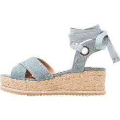 Sandały damskie: Miss Selfridge MAGIC Sandały na platformie blue