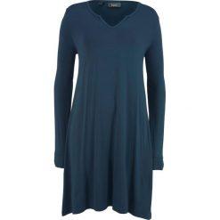 Sukienka shirtowa bonprix ciemnoniebieski. Niebieskie sukienki marki bonprix. Za 37,99 zł.