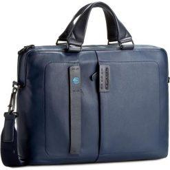 Torba na laptopa PIQUADRO - CA1903P15 Blu3. Niebieskie plecaki męskie Piquadro, ze skóry. Za 1294,00 zł.