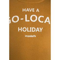 Imps&Elfs PULLOVER LONG SLEEVE Bluza golden brown. Żółte bluzy chłopięce marki Imps&Elfs, z bawełny. W wyprzedaży za 161,85 zł.