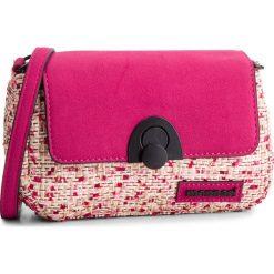 Torebka MONNARI - BAG3240-004 Pink. Czerwone listonoszki damskie Monnari, z materiału, na ramię. W wyprzedaży za 119,00 zł.