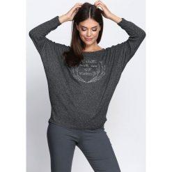 Swetry klasyczne damskie: Czarny Sweter That I Know
