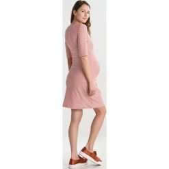 Sukienki hiszpanki: Boob EVA STRIPED DRESS Sukienka z dżerseju tofu/faded rose