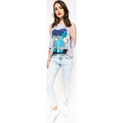 Medicine - Jeansy The bigger splash. Niebieskie jeansy damskie marki House, z jeansu. W wyprzedaży za 53,90 zł.