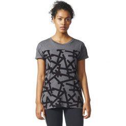 Bluzki damskie: Adidas Koszulka damska AOP TEE szara r. S (BP9273)