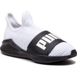 Buty PUMA - Fierce Slide Wn's 191161 03 Puma White/Puma Black. Białe buty do fitnessu damskie Puma, z materiału. Za 399,00 zł.