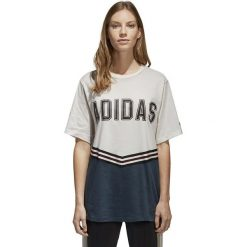 Bluzki damskie: Adidas Koszulka damska Shirt Adibreak biała r. 40 (CE1001)