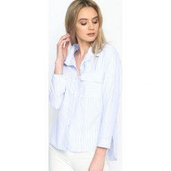 Niebieska Koszula Classic Stripes. Koszule w niebieskie paski marki Reserved. Za 39,99 zł.