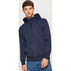 Bluza z kapturem - Granatowy. Szare bluzy męskie rozpinane marki TARMAK, m, z bawełny, z kapturem. Za 99,99 zł.