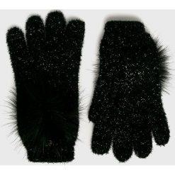 Liu Jo - Rękawiczki. Czerwone rękawiczki damskie Liu Jo, z dzianiny. Za 219,90 zł.