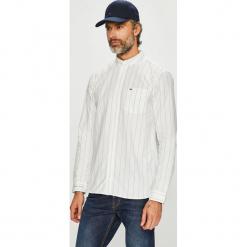 Tommy Jeans - Koszula. Szare koszule męskie jeansowe marki Tommy Jeans, l, w paski, button down, z długim rękawem. Za 399,90 zł.