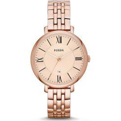 Zegarek FOSSIL - Jacqueline ES3435  Rose Gold/Rose Gold. Różowe zegarki damskie marki Fossil, szklane. Za 569,00 zł.