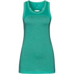 Odlo Koszulka damska Singlet NATURAL + CERA zielona r. S (110511). Zielone bluzki damskie marki Odlo, s. Za 130,95 zł.