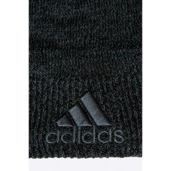 Adidas Performance - Czapka. Czarne czapki zimowe damskie adidas Performance, na zimę, z dzianiny. W wyprzedaży za 59,90 zł.