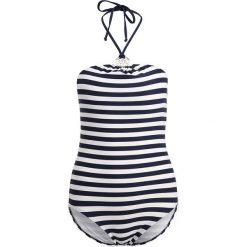 Stroje kąpielowe damskie: MICHAEL Michael Kors LOGO RING ONEPIECE STRIPES Kostium kąpielowy new navy