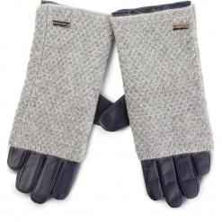 Rękawiczki Damskie WITTCHEN - 39-6-563-GC Granatowy. Niebieskie rękawiczki damskie Wittchen, z materiału. Za 249,00 zł.