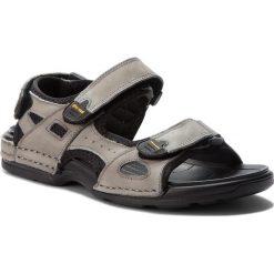 Sandały GINO ROSSI - Emin MN2536-TWO-BG00-8500-T 90. Szare sandały męskie skórzane marki Gino Rossi. W wyprzedaży za 149,00 zł.