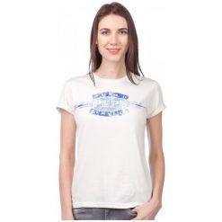 Pepe Jeans T-Shirt Damski Erin Xs Kremowy. Białe t-shirty damskie marki Pepe Jeans, xs, z jeansu. W wyprzedaży za 94,00 zł.