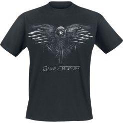 Gra o Tron Crow T-Shirt czarny. Czarne t-shirty męskie Gra o Tron, m. Za 74,90 zł.