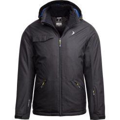Kurtka narciarska męska KUMN603 - głęboka czerń - Outhorn. Brązowe kurtki męskie pikowane Outhorn, m, narciarskie. Za 329,99 zł.