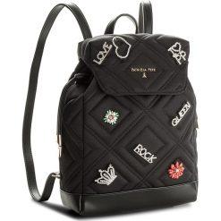 Plecaki damskie: Plecak PATRIZIA PEPE – 2V7771/A3YN-K324 Quilted Satin Black