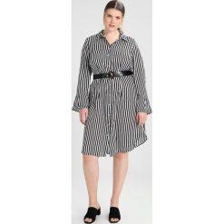 Sukienki hiszpanki: Lost Ink Plus DRESS IN STRIPE WITH BELT Sukienka koszulowa multi