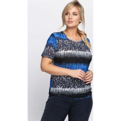 Niebieski T-shirt Little Boogie. Niebieskie t-shirty damskie Born2be, l. Za 19,99 zł.
