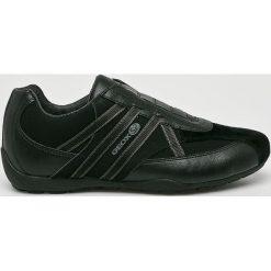 Geox - Buty. Czarne buty skate męskie Geox, z gumy. W wyprzedaży za 259,90 zł.
