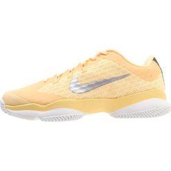 Nike Performance AIR ZOOM ULTRA Obuwie do tenisa Outdoor tangerine tint/metallic silver. Pomarańczowe buty sportowe damskie Nike Performance, z materiału, na golfa. Za 379,00 zł.