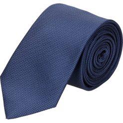 Krawat platinum granatowy classic 224. Niebieskie krawaty męskie Recman. Za 49,00 zł.