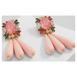 Kolczyki damskie: Anton Heunis CLUSTER EARRINGS Kolczyki coral/multicolour