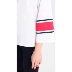 Bluzki asymetryczne: Sundry STRIPES TEE Bluzka z długim rękawem white