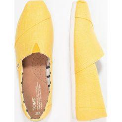 Creepersy damskie: TOMS ALPARGATA Półbuty wsuwane yellow/dandelion heritage