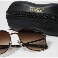VOGUE Eyewear GIGI HADID Okulary przeciwsłoneczne brown gradient. Brązowe okulary przeciwsłoneczne damskie aviatory VOGUE Eyewear. Za 579,00 zł.
