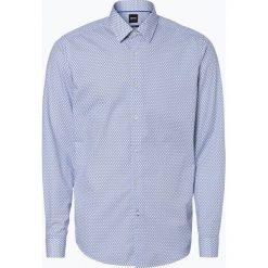 BOSS - Koszula męska – Lukas_F, niebieski. Czarne koszule męskie na spinki marki Boss, m. Za 429,95 zł.