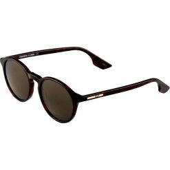 McQ Alexander McQueen Okulary przeciwsłoneczne avana green. Brązowe okulary przeciwsłoneczne damskie aviatory McQ Alexander McQueen. W wyprzedaży za 431,20 zł.