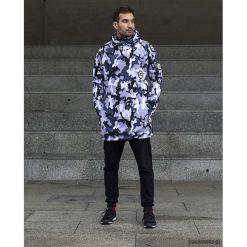 Snow Army męska bluza z kapturem. Czarne bluzy męskie rozpinane marki Pakamera, m, z dresówki, z kapturem. Za 359,00 zł.