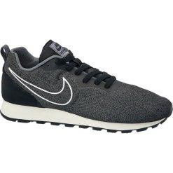 Buty męskie Nike Md Runner 2 NIKE popielate. Niebieskie halówki męskie marki Nike, z gumy, nike md runner. Za 299,90 zł.