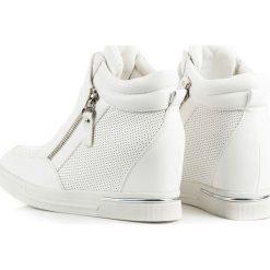 Sneakersy damskie: SNEAKERSY NA KOTURNIE Sadie
