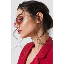 NA-KD Accessories Okulary przeciwsłoneczne z mostkiem - Red. Szare okulary przeciwsłoneczne damskie lenonki marki ORAO. Za 52,95 zł.